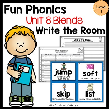 Write the Room Blends Level 1 Unit 8