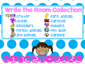 Write the Room Collection-10 different themes