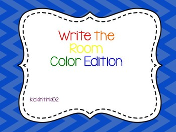 Write the Room Color Edition