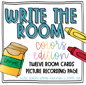 Write the Room (Color Word Edition)