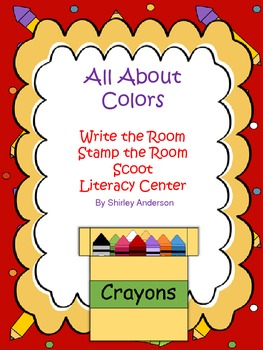 Write the Room- Color Words