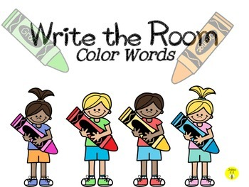 Write the Room-Color Words