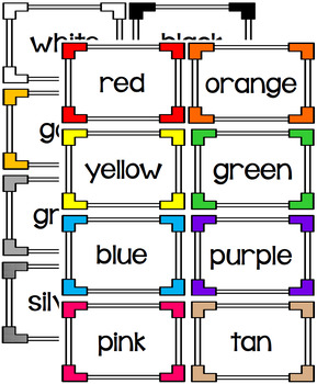 Write the Room - Color Words
