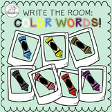 Write the Room: Color Words