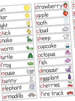 Write the Room: Color Words Edition