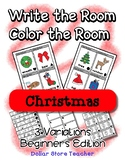 Write the Room / Color the Room ~ Beginner Version - Presc