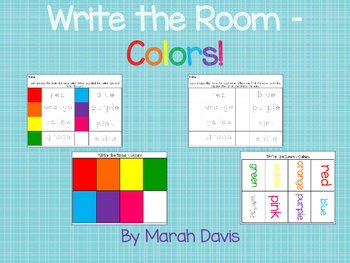 Write the Room - Colors