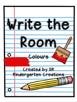 Write the Room Colours