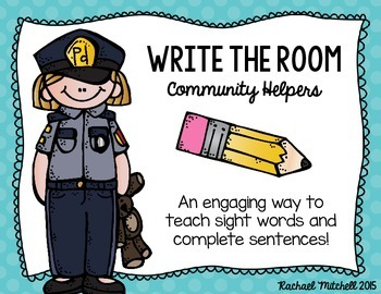 Write the Room: Community Helpers