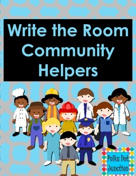 Write the Room: Community Helpers