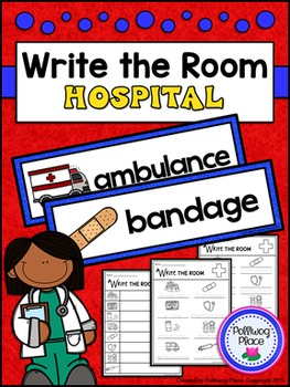 Write the Room - Community Helpers: Hospital