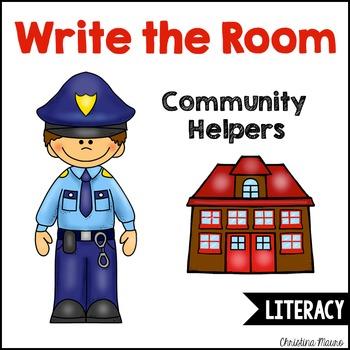 Write the Room - Community Helpers Theme