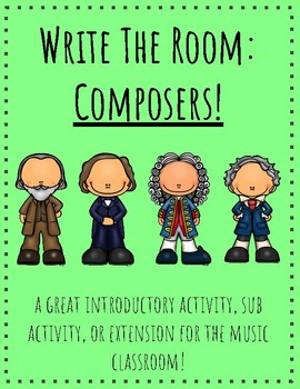 Write the Room: Composers!