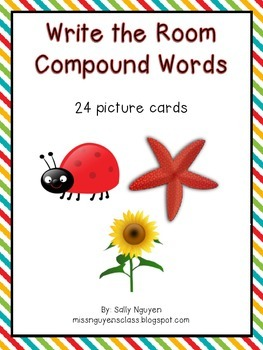 Write the Room Compound Words