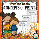 Fall Concepts of Print Write the Room