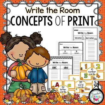 Concepts of Print - Write the Room (Fall)