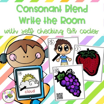 Write the Room - Consonant Blends