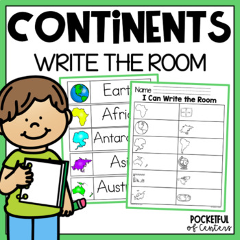Continents Write the Room