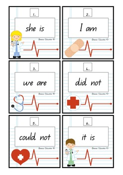 Write the Room - Contraction Surgery Set 1