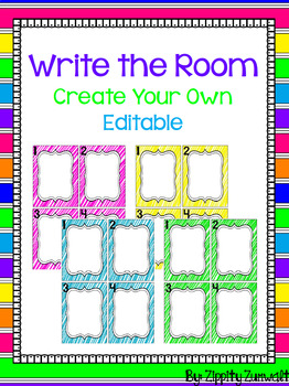 Write the Room - Create your own!