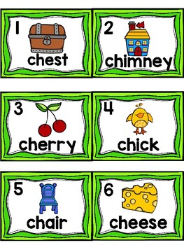 Write the Room- DIGRAPH CH