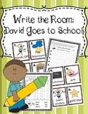 Write the Room:  David Goes to School