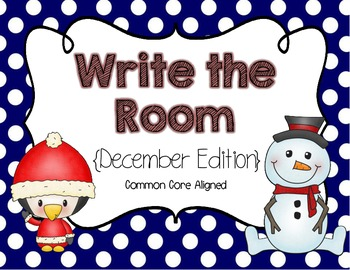 Write the Room {December Edition}