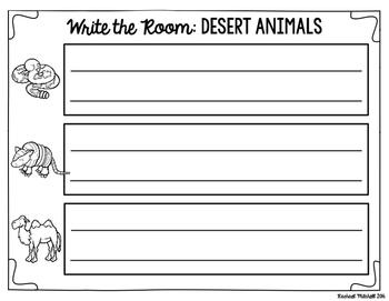 Write the Room: Desert Habitat