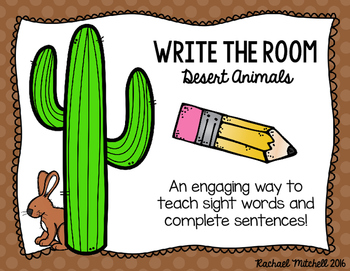 Write the Room: Desert Habitat