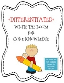 Write the Room Differentiated Center for Core Knowledge History