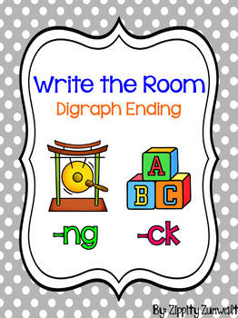Write the Room - Digraph ending ck, ng
