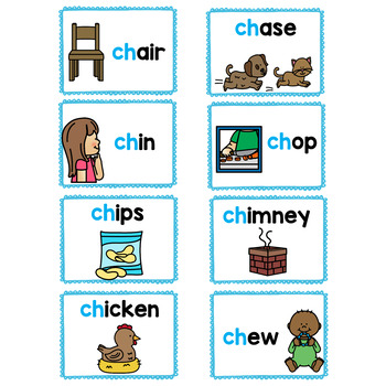 Write the Room! Digraphs (CH)