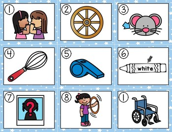 Write the Room (Digraphs: sh, wh words)