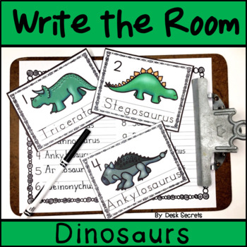 Write the Room Dinosaurs