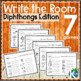 Write the Room: Diphthongs