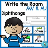 Write the Room Diphthongs AW and AU