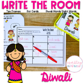 Write the Room Diwali Math and Literacy Centers
