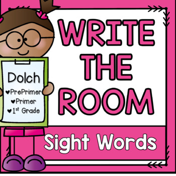 Write the Room {Dolch Sight Words}