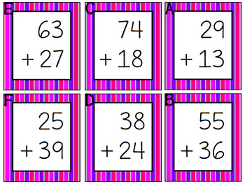 Write the Room - Double Digit Addition *w/regrouping*