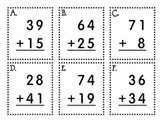 Write the Room - Double Digit Addition (with and without Regrouping)