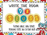 Write the Room Dr. Seuss inspired color theme