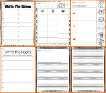 Write the Room - ER, IR, UR