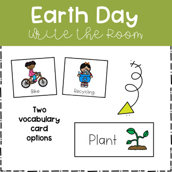 Write the Room - Earth Day Theme