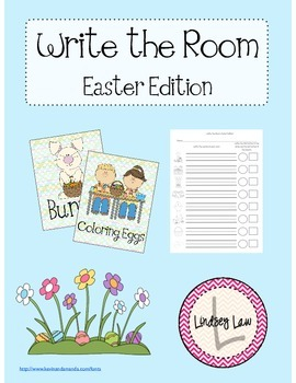 Write the Room Easter Edition