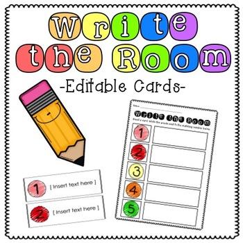 Write the Room [Editable]