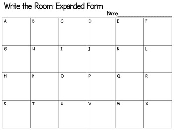 Write the Room: Expanded Form