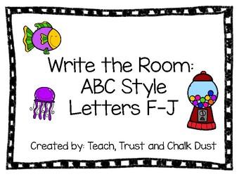 Write the Room F-J