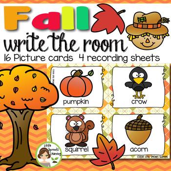 Write the Room - FALL (Autumn theme)