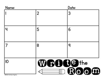 FREE Write the Room {A Hughes Design}