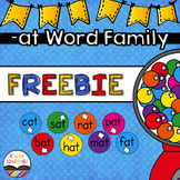 -AT Word Family FREEBIE